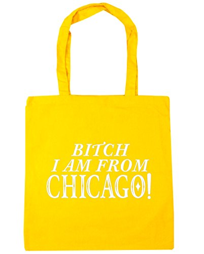 hippowarehouse-bitch-i-am-from-chicago-tote-shopping-gym-beach-bag-42cm-x38cm-10-litres