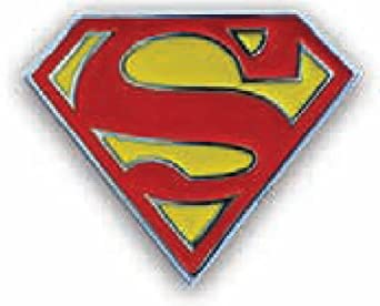 Superman Classic Logo Belt Buckle (Red/Yellow)