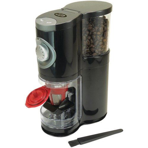 Solofill - SoloGrind 2-in-1 Automatic Single-Serve Coffee Burr Grinder for Solofillcup