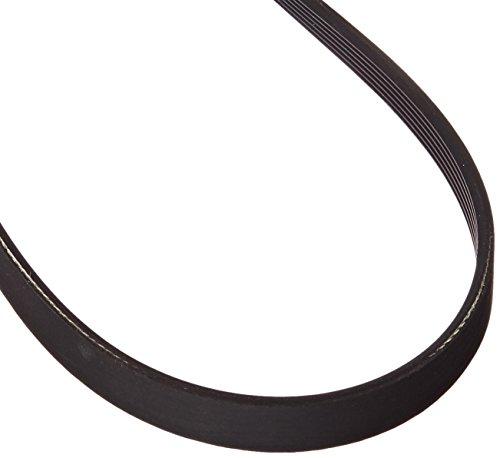"BESTORQ 390J6 Rubber V-Belt, V-Ribbed Belt Black, 39"" Length x 0.558"" Width x 0.17"" Height"