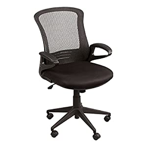 mesh back office chair w foldable seat back