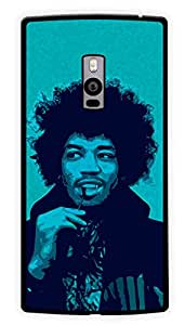 """Humor Gang Jimi Hendrix Blues Printed Designer Mobile Back Cover For """"OnePlus Two"""" (2D, Glossy, Premium Quality Snap On Case)"""