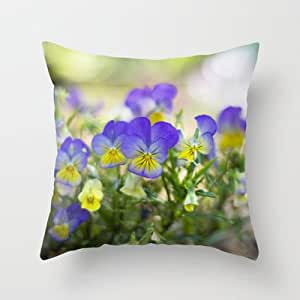 Kirklands Throw Pillow Covers : Amazon.com - Society6 - Violas Throw Pillow by Katie Kirkland