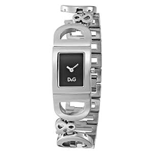Dolce & Gabbana - DW0499 - Montre Femme - Quartz Analogique - Cadran Argent - Bracelet Acier Argent