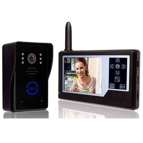 ALEKO® Wireless Video Door Phone System Display Intercom LM163 3.5