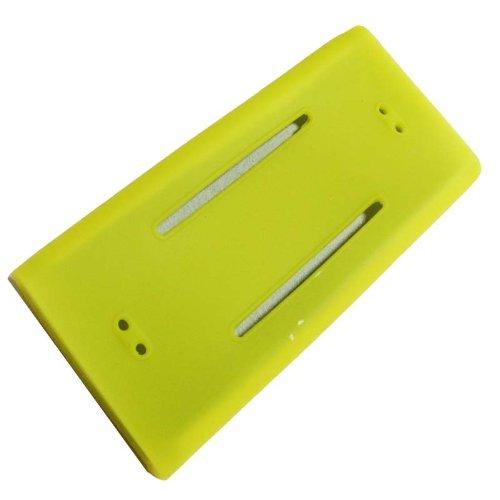 DB Premium Yellow Silicone Case Cover for Ipod Nano 2nd Generation hhi ipod nano 6th generation silicone looper skin case yellow