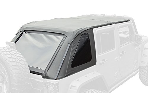 Rugged Ridge 13750.38 Black Diamond Bowless Top for Jeep Unlimited JK Wrangler (4-Door) (2015 Jeep Soft Top compare prices)