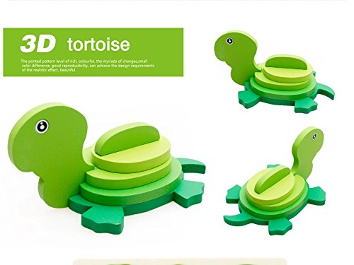 Thinkmax 3-D Wooden Puzzle Affordable Gift For Your Little One!£¨Tortoises ) front-269655