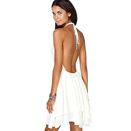 FORU HARPER -  Vestito  - Donna bianco Medium