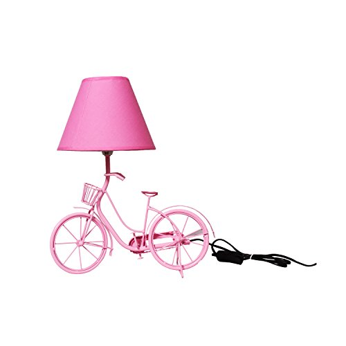 The Crazy Me Light It Up Vintage Cycle Lamp (Pink)