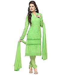 Right Enterprise Women's Cotton Kurti (RE08-1015_1_Green_Free Size)