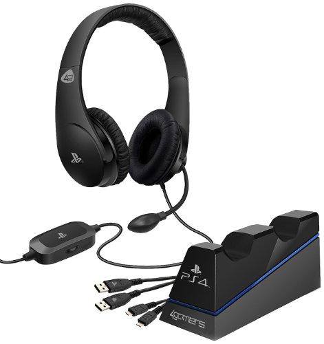 Officially Licensed Stereo Gaming Headset Starter Kit (Ps4)