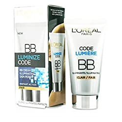 LOreal Paris Luminize Code BB Cream Illuminating Skin Perfector 50ml-Fair