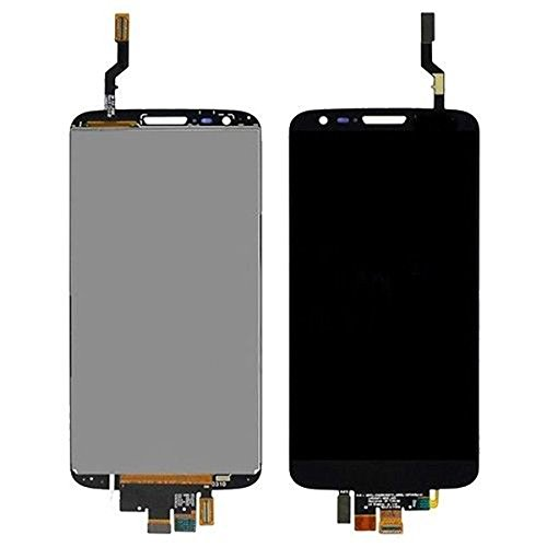 Lcd Display Touch Screen Digitizer Assembly For Lg Optimus G2 D802 D805 Black/White, Free Tools, Epacket Shipping (Black)