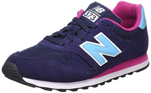 New Balance WL373 Lifestyle - Zapatillas de deporte para mujer, Azul - Bleu (Navy/410), 38