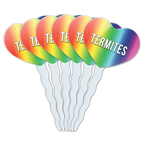 rainbow-heart-love-set-of-6-cupcake-picks-toppers-decoration-i-love-heart-animals-t-z-termites