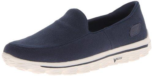 Skechers - Go Walk 2Maine, Sneakers da uomo, Blu (Blu (Marine)), 42.5