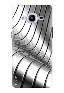 Noise Designer Printed Case / Cover for Samsung Galaxy J2 Pro - 6 (New 2016 Edition) / Patterns & Ethnic / Steel Tunnel Design