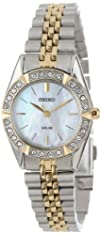 Seiko Womens SUP094 Dress Solar Classic Watch