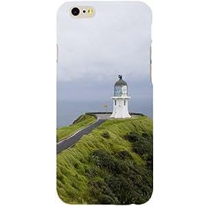 Casotec Light House Design Hard Back Case Cover for Apple iPhone 6 / 6S