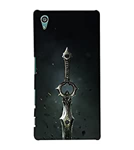 Drow Long Knife 3D Hard Polycarbonate Designer Back Case Cover for Sony Xperia Z5 :: Sony Xperia Z5 Dual (5.2 Inches)