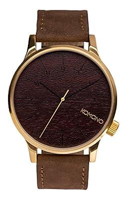 Komono Watch - Winston - Gold Wood