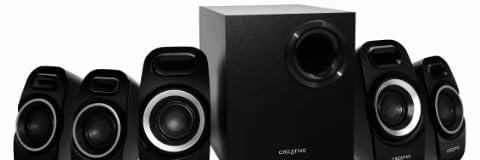 Creative 5.1ch マルチチャンネル PCスピーカー Inspire T6300 アクティブスピーカーシステム IN-T6300