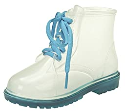 Toddler & Little Kid Rain Boots (10 M US Toddler / EU 27, Light Blue)