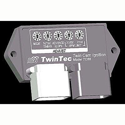 Daytona Twin Tec Tc88 Plug-In Ignition Module For Harley-Davidson Twin Cam Carb W/ 6-Pin Connectors