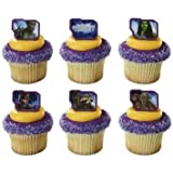 Guardians of the Galaxy Unite Marvel cupcake Rings - 24 pcs