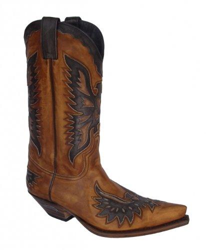 Sendra Boots 8994MO conac braun * incl. original MOSQUITO ® Stiefelknecht *
