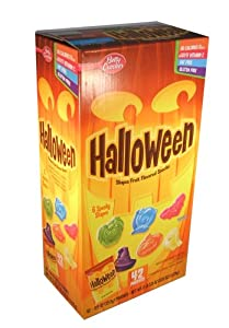 Betty Crocker Halloween Candy Fruit Snacks 42 Pouches
