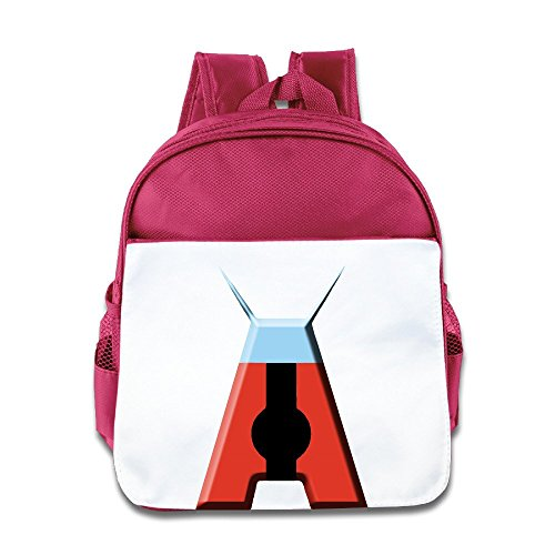 [Logog 8 Creative Super A Cute Baby Boys Girls Tollder School Hiking Backpacks Bags Pink] (Dwayne Johnson Baby Costume)