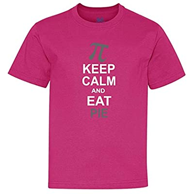 Keep Calm And Eat Pie Youth T-Shirt