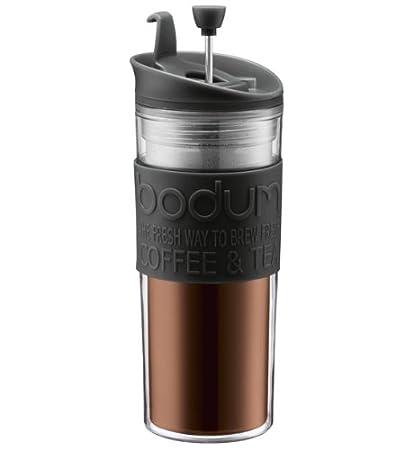 15-oz Insulated Plastic Travel French Press Coffee Mug by Bodum