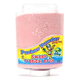 Light Pink Tropical Pucker Powder Candy Two 9 Ounce Bottles