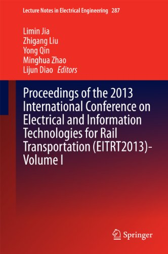Proceedings Of The 2013 International Conference On Electrical And Information Technologies For Rail Transportation (Eitrt2013)-Volume I: 287 (Lecture Notes In Electrical Engineering)
