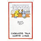 Careless talk can cost lives (V&A Custom Print)