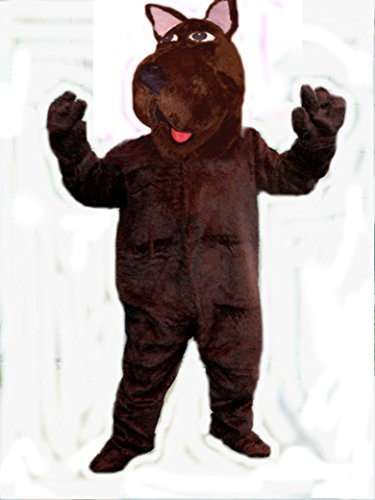 Mascots USA by CJs Huggables Custom Pro Low Cost Great Dane Mascot Costume