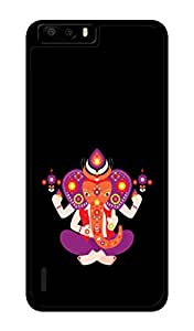 Huawei Honor 6 Plus Printed Back Cover