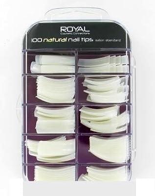 Royal 100 Natural Nail Tips