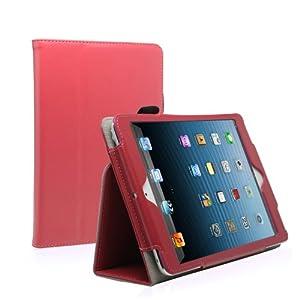 iPad mini 3 Case - KAYSCASE FlipStand Case Compatible with Apple iPad mini / iPad mini Retina Display (iPad mini 2) / iPad mini 3 7.9 inch tablet (Lifetime Warranty) (Hot Pink)