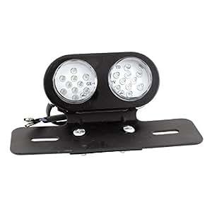 Motorbike 20 LED Red White Brake Tail Signal Light