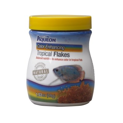 Aqueon 06038 Tropical Color Enhancing Flakes,