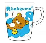 リラックマお誕生日マグカップ2nd 8月