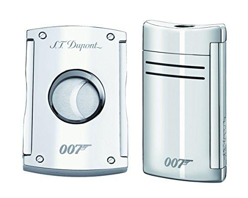 ST. Dupont James Bond Spectre MaxiJet Set con accendino e sigaro taglierina Limited
