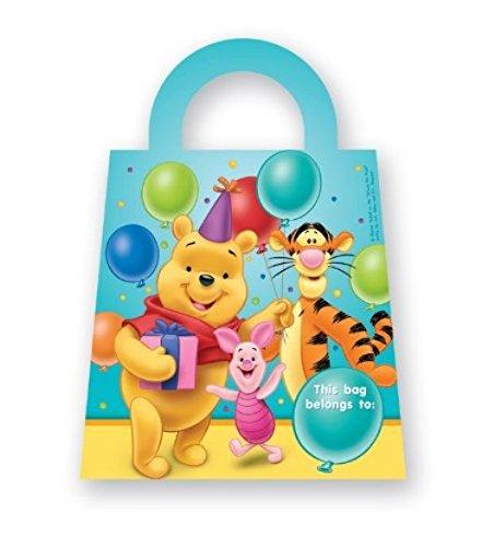 Procos - Winnie Pooh Surprise Partytüten 6 Stück