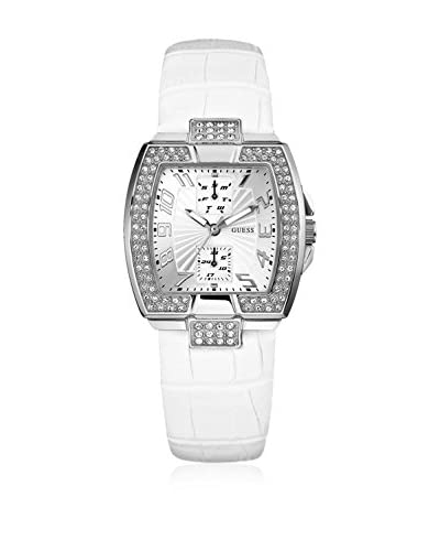 Guess Reloj de cuarzo Woman W12075L1 Blanco 35 mm