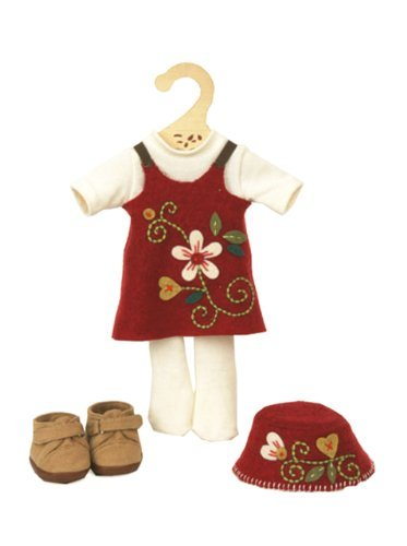 My Doll wool blend dress for 32 cms doll
