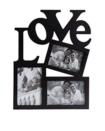 Marco De Fotos Love 10X15 Negro